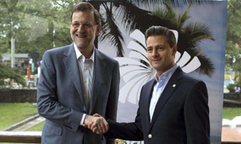 Mariano Rajoy y Enrique Peña Nieto participaron en la reunión de la Alianza del Pacífico que se celebra en Colombia. (Foto: EFE)