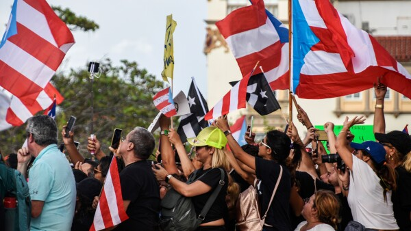 Manifestaciones en Puerto Rico