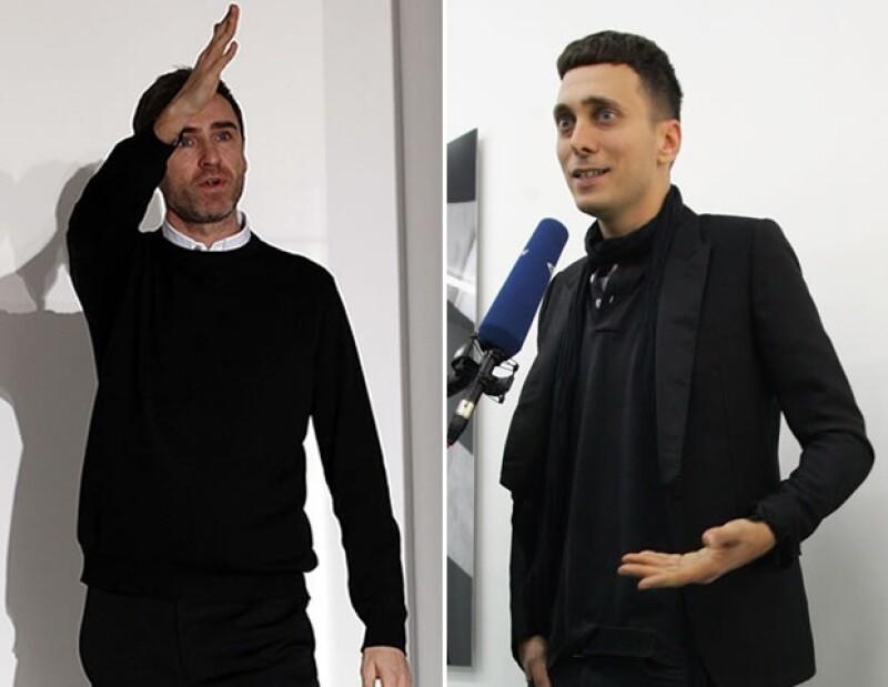 Raf Simons, el recién estrenado Director Creativo de Dior, fue nombrado como inspiración para Slimane, lo que él negó vehementemente.
