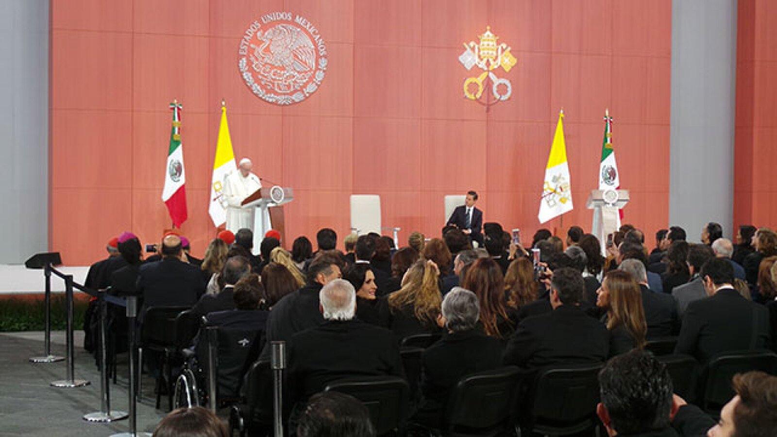En su discurso aseguró que lo más importante que tiene México es su juventud.