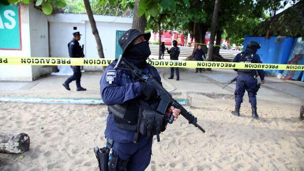Inseguridad en Acapulco