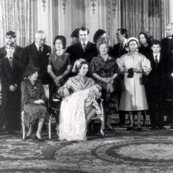 Peter Phillips - December 1977 Family Gathering For Master Peter''s Christening London Thursday - A Family Gathering In The White Drawing Room At Buckingham Palace Today After Princess Anne''s 37-day-old Son Master Peter Mark Andrew Phillips Had Been