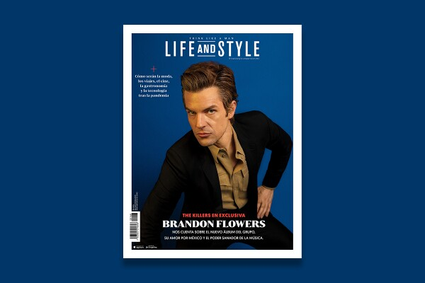 Brandon Flowers Portada Life and Style The Killers