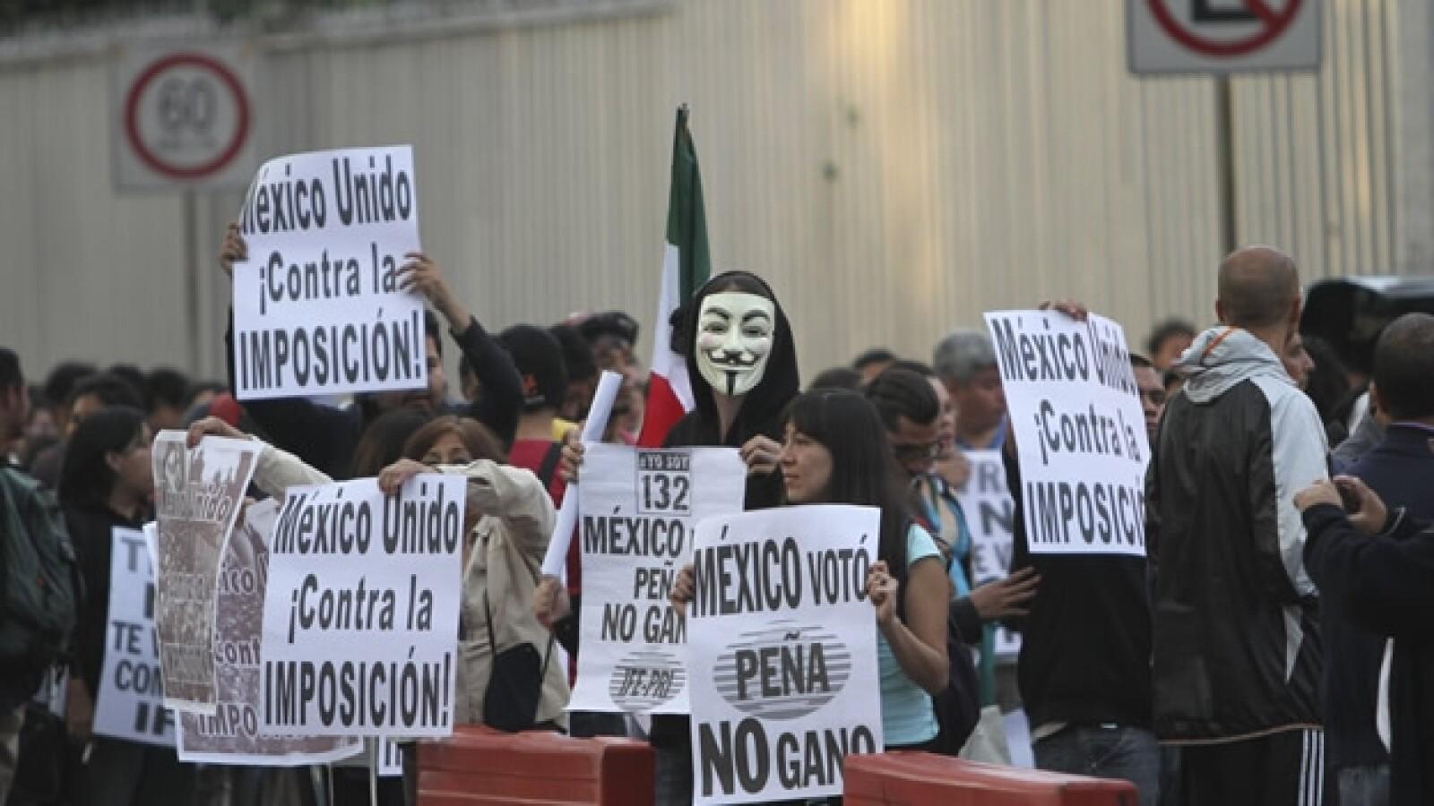 protesta artisitica yosoy132 tribunal electoral