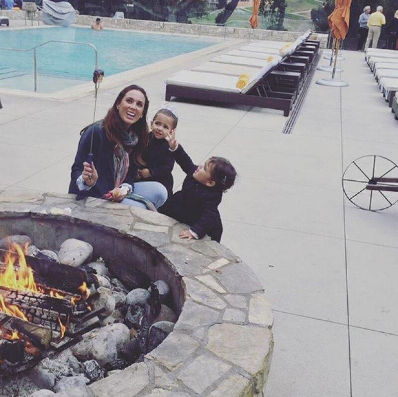 Desde hace una semana, la familia Fuentes Bracamontes viajó a EU para apoyar a Martín en una importante carrera. Pero aprovecharon para disfrutar en familia.