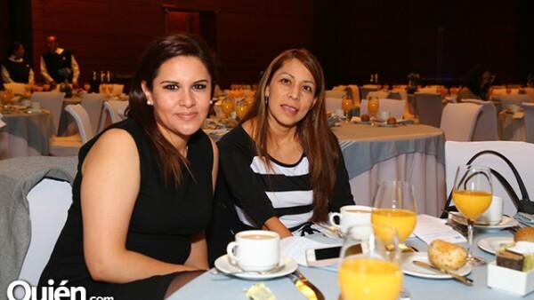 Minerva Domínguez y Lila Soto