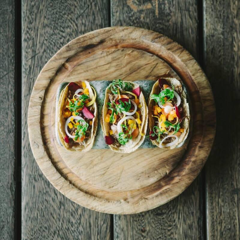 Tacos de pato