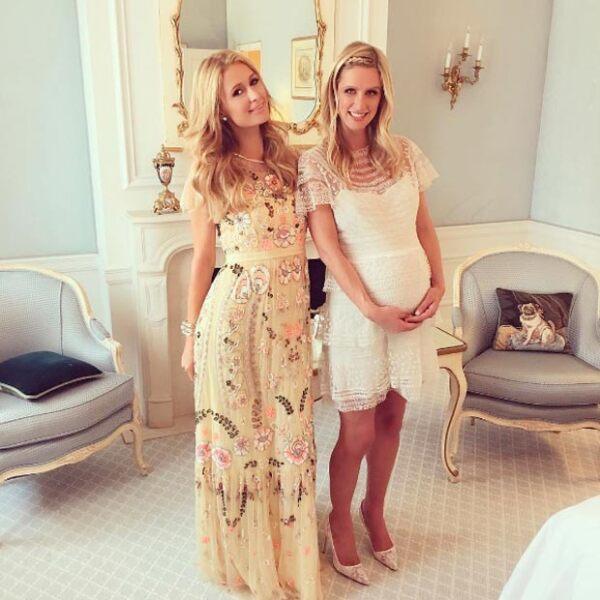 Paris organizó un especial baby shower para su hermana menor.