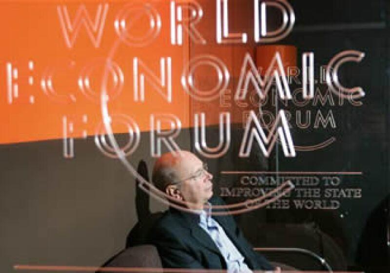 El fundador del WEF destacó la importancia de una cooperación mundial sistémica, integrada y sistémica. (Foto: Cortesía WEF)