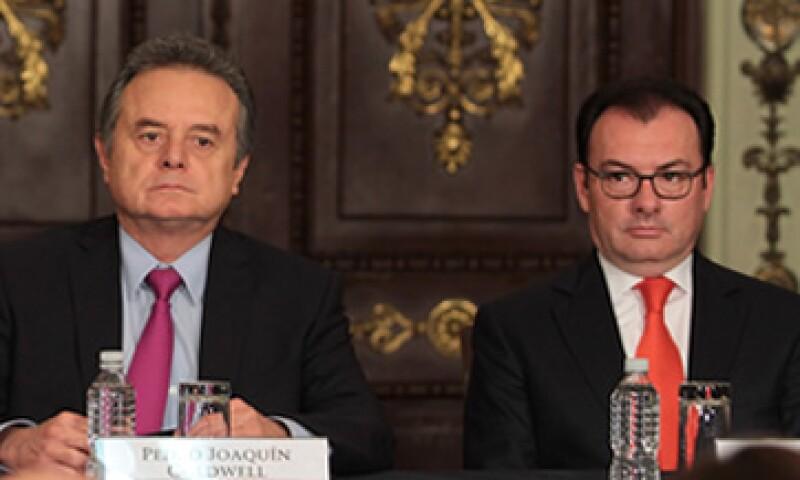 El titular de la Secretaría de Energía y de Hacienda forman parte del Consejo de Administración de la petrolera. (Foto: Notimex)