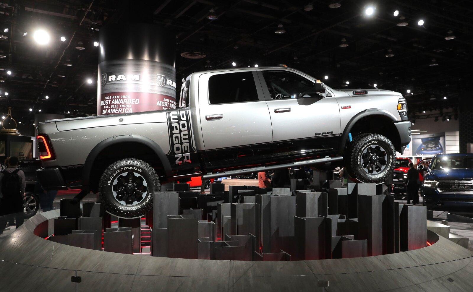 Pickup de trabajo pesado Ram Power Wagon 2019