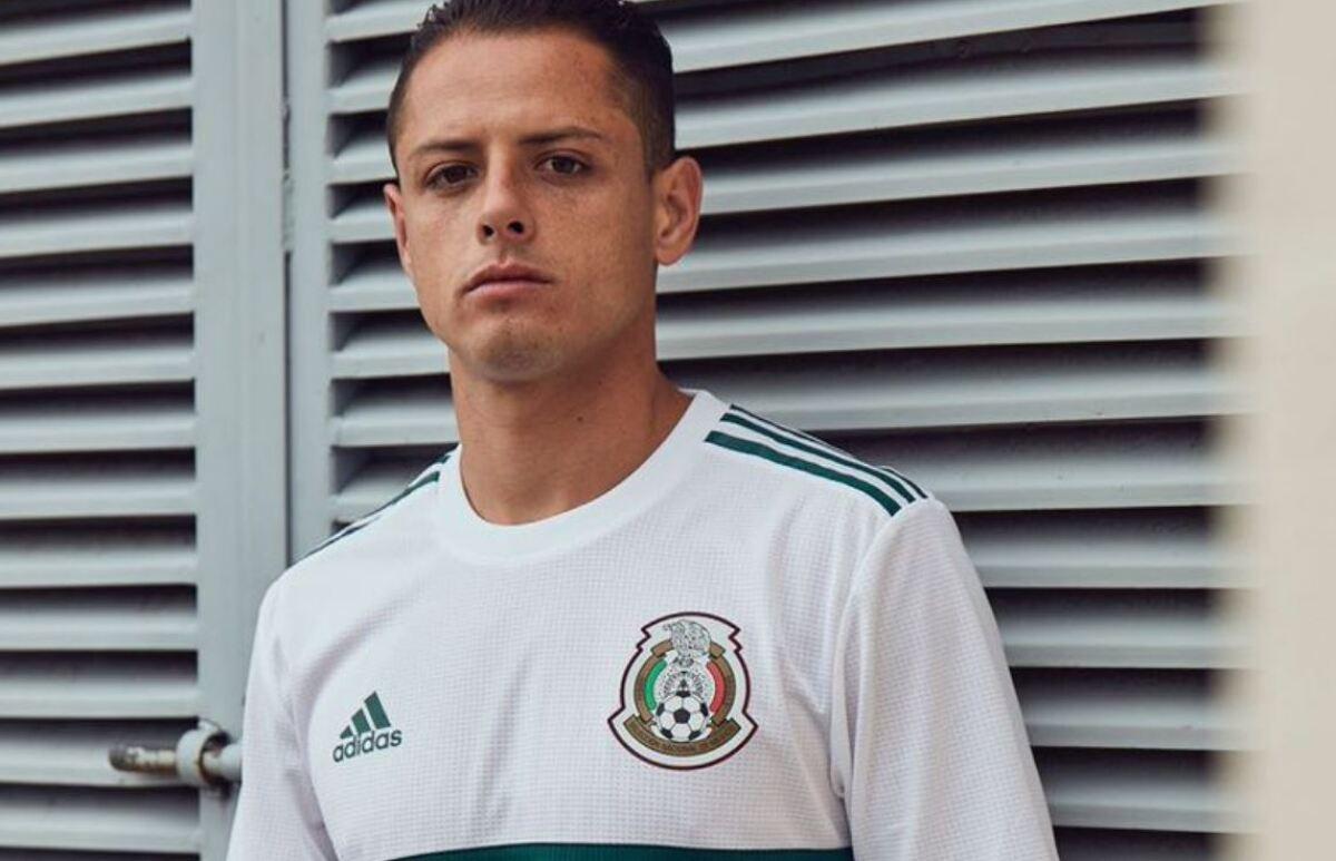 7b5f17a67f00a La segunda playera de la Selección Mexicana para Rusia 2018