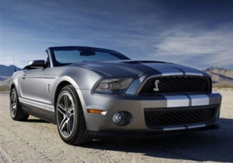 El Mustang 2010 es el deportivo más vendido en México. (Foto: Cortesía Ford)