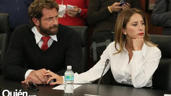 Gabriel Soto y Geraldine Bazan