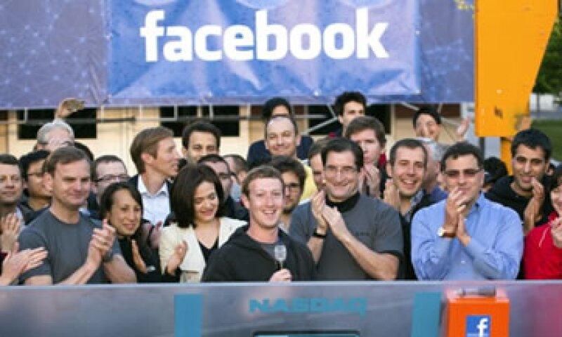 Pese a la atropellada OPI de la red social, las acciones de la firma han gozado altos rendimientos. (Foto: Getty Images)
