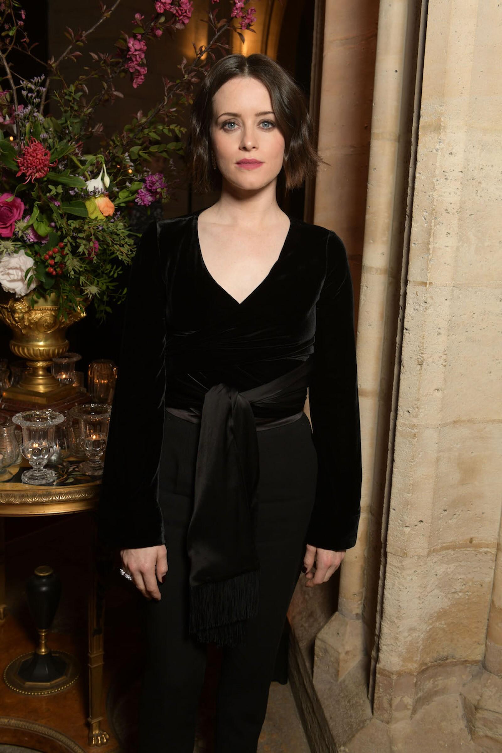 Claire Foy, actriz de la famosa serie The Crown