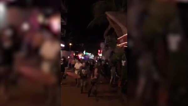 Así se vivió el ataque en el festival BPM en Playa de Carmen, México