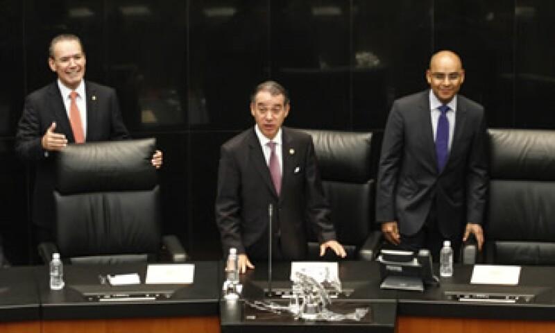 La Comisión Permanente sesionó este miércoles en el Senado. (Foto: Cuartoscuro)