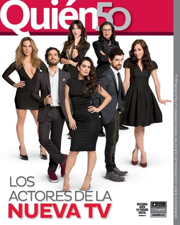 Ellos son los personajes que están transformando la nueva televisión en México.
