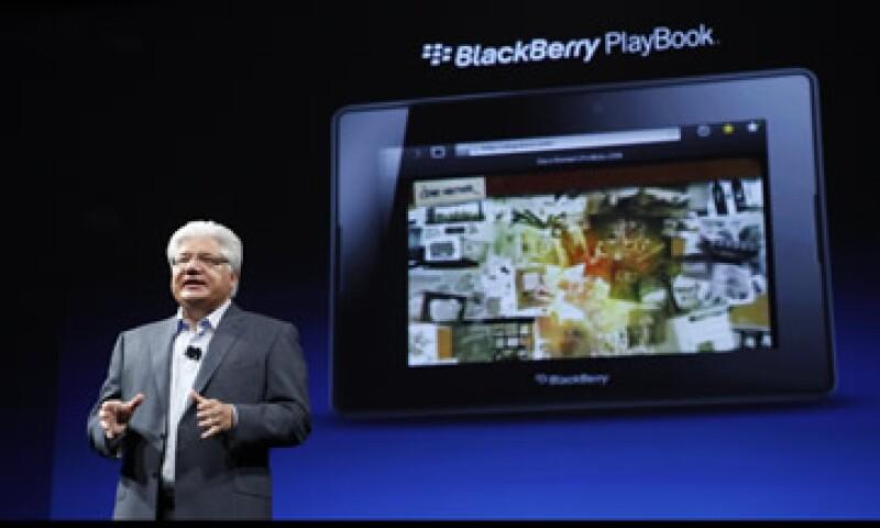 Las tablets PlayBook no cuentan con las funciones que hicieron famosos a los smartphones BlackBerry. (Foto: Reuters)