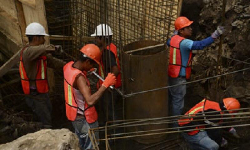 La industria de la construcción cayó un 4.5% en 2013. (Foto: Cuartoscuro)