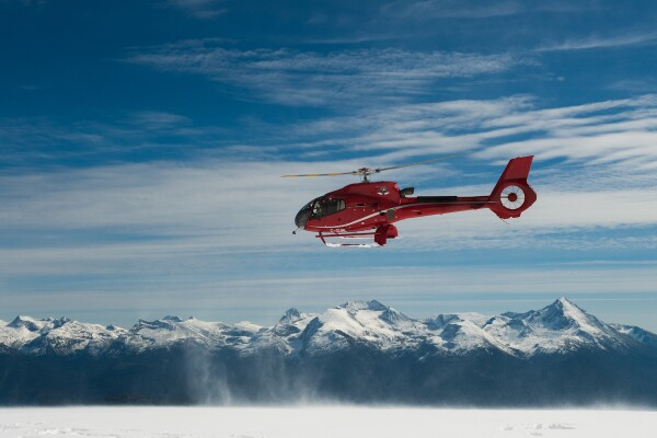 Scenic flight with Blackcomb Helicopters