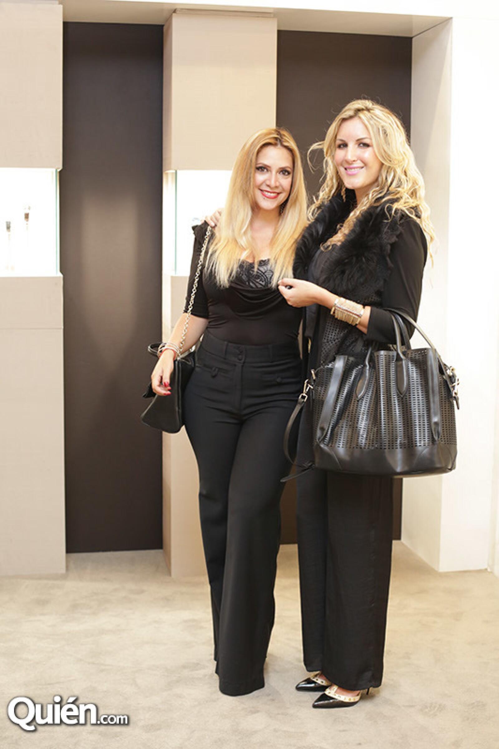 Alejandra Atala y Lili Lamadrid
