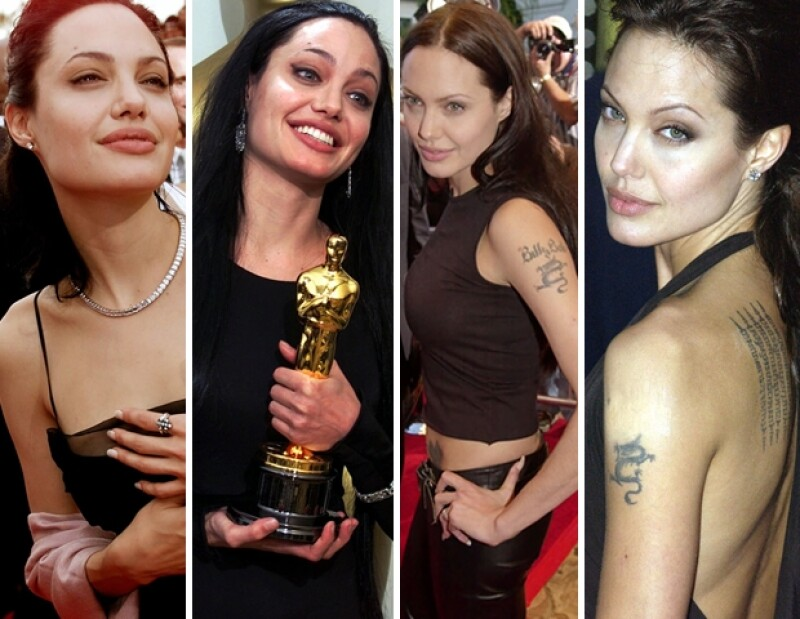 Angelina estuvo casada con Billy Bob Thronton hasta el 2003.