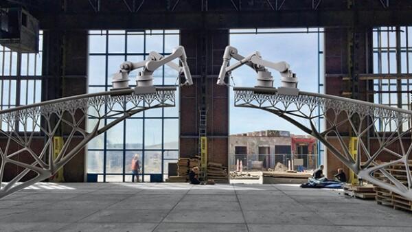 obras puente robot