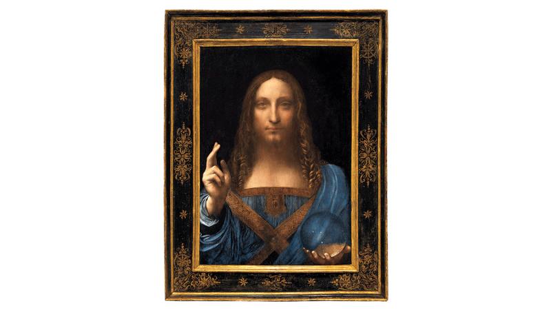 El Salvator Mundi, de Leonardo da Vinci