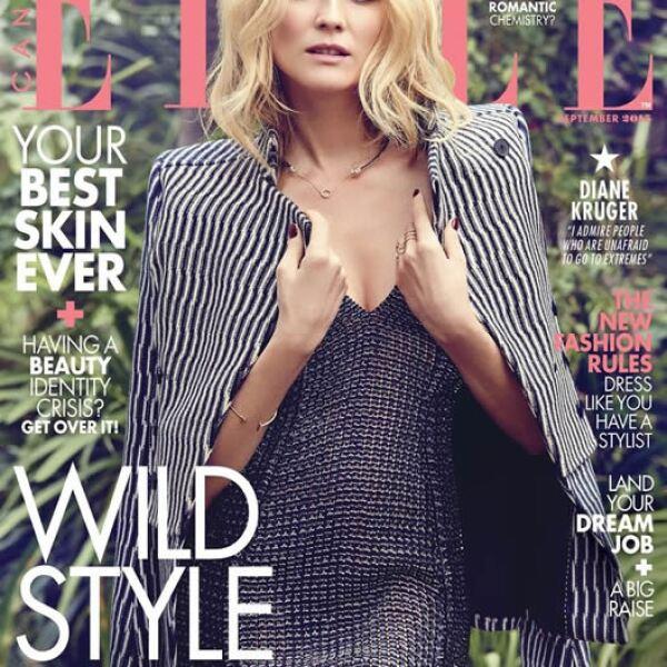 ELLE Canadá: Diane Kruger luce espectacular en la portada de septiembre.