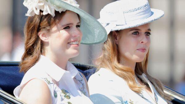 Princesa Eugenia y princesa Beatriz