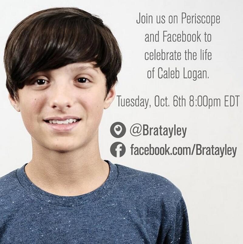 La madre de Caleb Bratayley reveló la causa de la muerte de su hijo de 13 años.