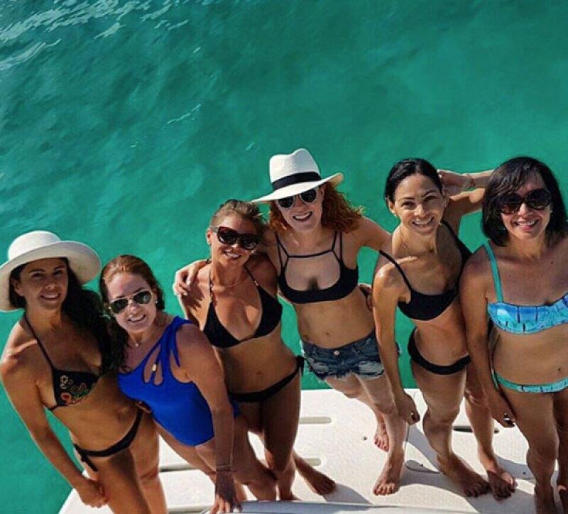 Ludwika y sus amigas demostraron su figura de envidia en bikini.