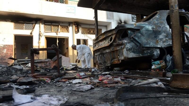 Pakistán atentado