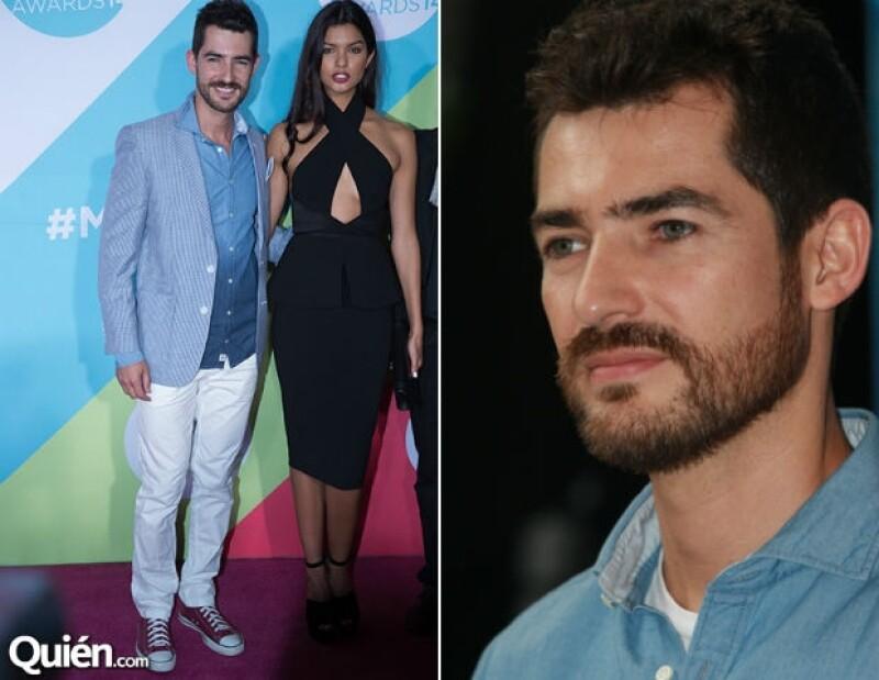 Manuel Balbi fue uno de los invitados a los MTV Millennial Awards.