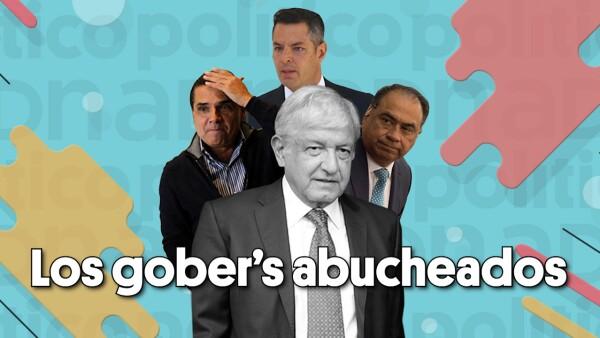 Los gober's abucheados