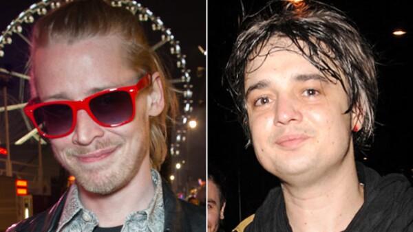 Macaulay Culkin y Pete Doherty se mudaron juntos hace poco, aunque parecería que uno no es la mejor compañía del otro.