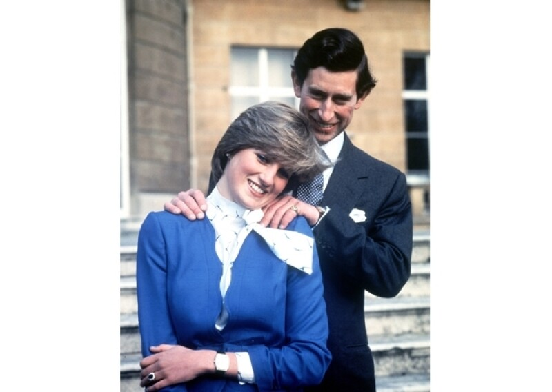 Carlos y Diana se comprometieron en 1981.