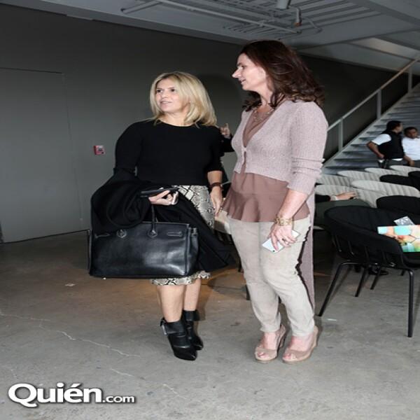 Lulú Creel y Lucero Prado