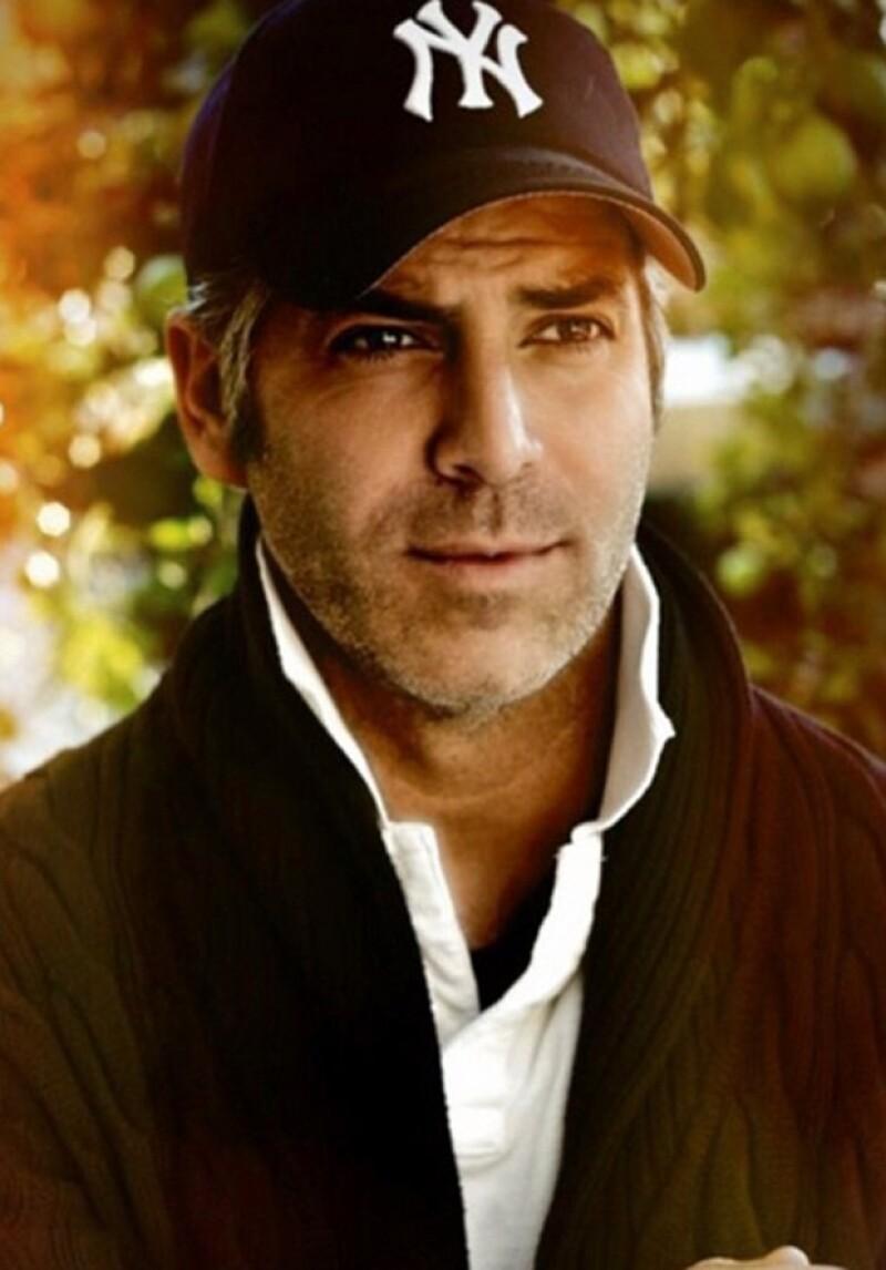 Él es Guillermo Zapata, el modelo argentino que bien podría pasar como hermano gemelo del actor de Hollywood.