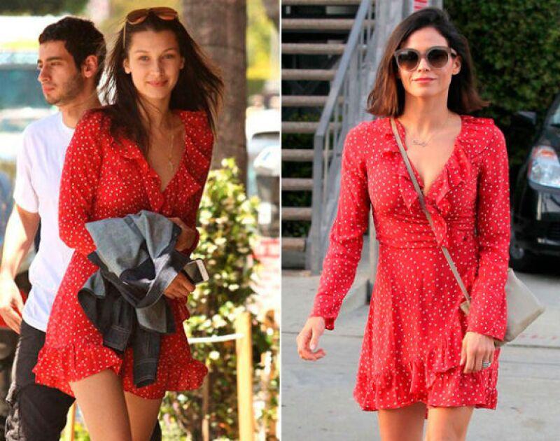 Bella Hadid o Jenna Dewan Tatum han utlizado este vestido.