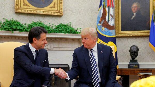 Trump presidente Giuseppe Conte