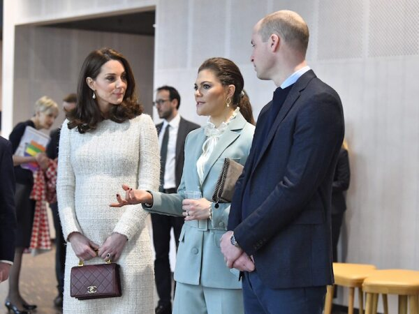 Prince William and Catherine Duchess of Cambridge visit to Sweden, Day 2 - 31 Jan 2018