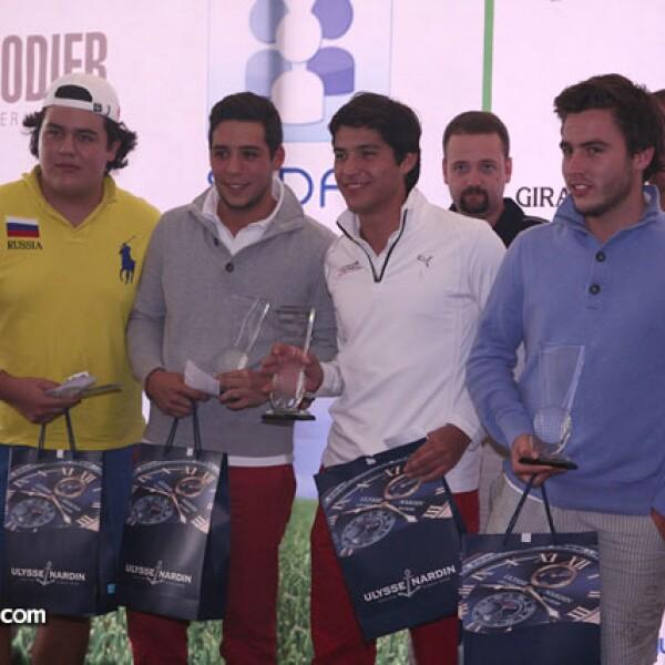 Andrés Casteñeda,Dector Hadad,Jorge Coghlan,Miguel Ahumada