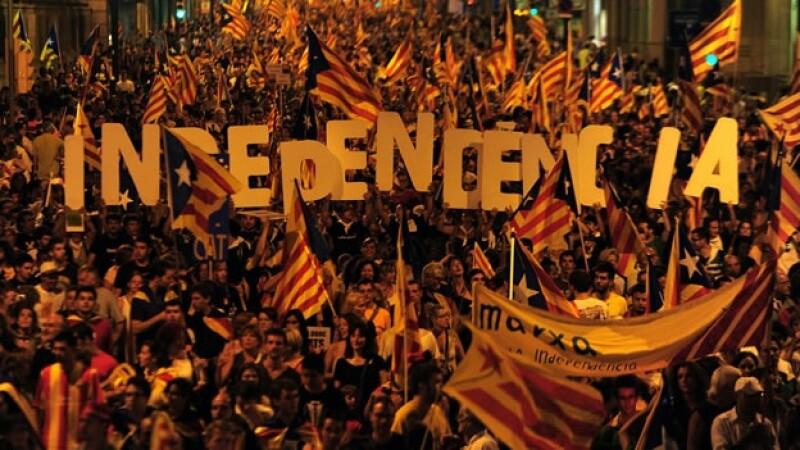 independencia Cataluña España