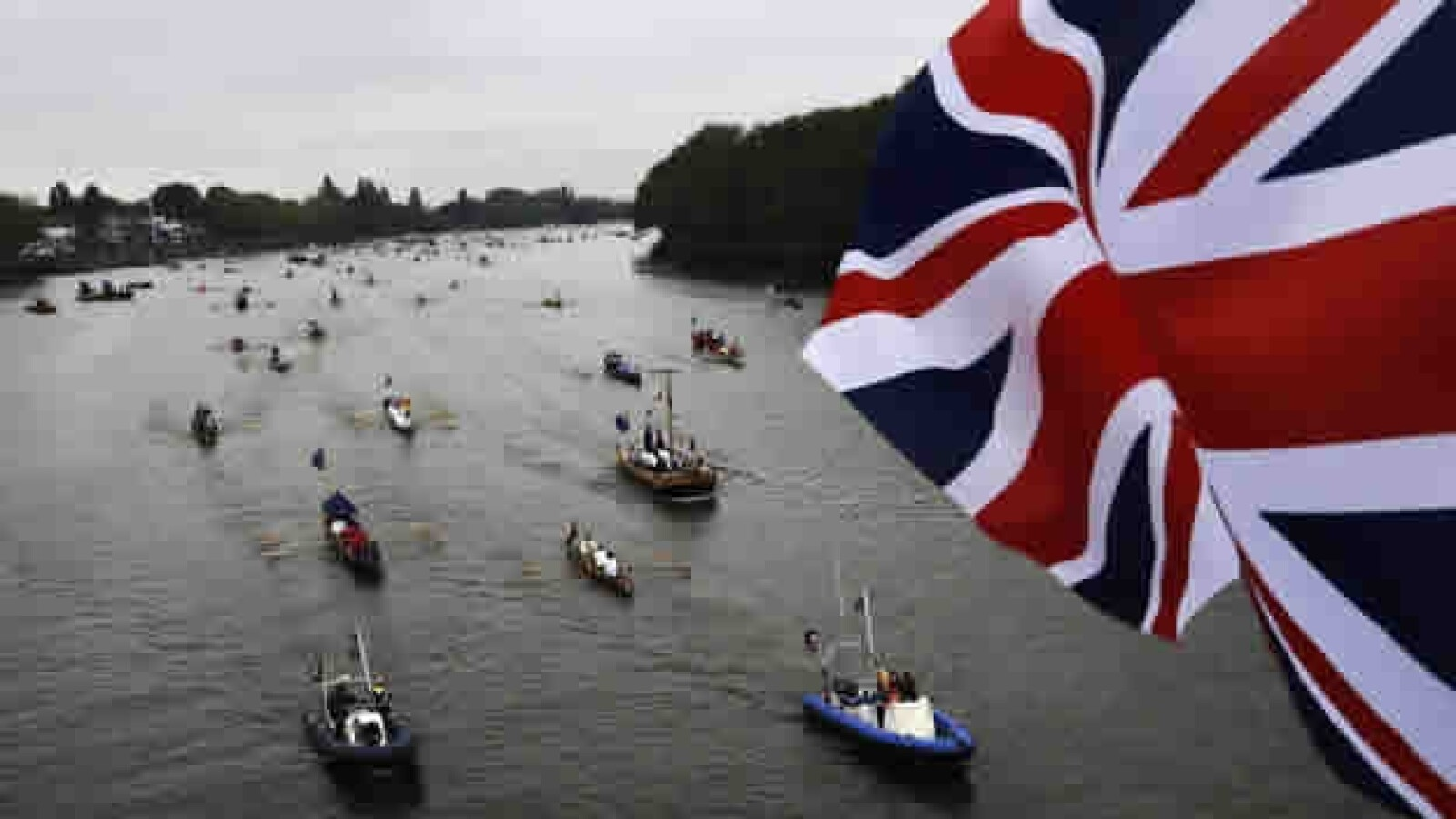 jubileo Támesis barcas 1
