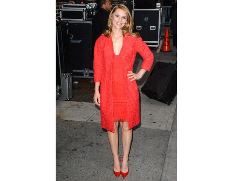 La actriz decidió probar un tono distinto de rubio y la vimos por las calles de Nueva York con un look más sensual y llamativo.
