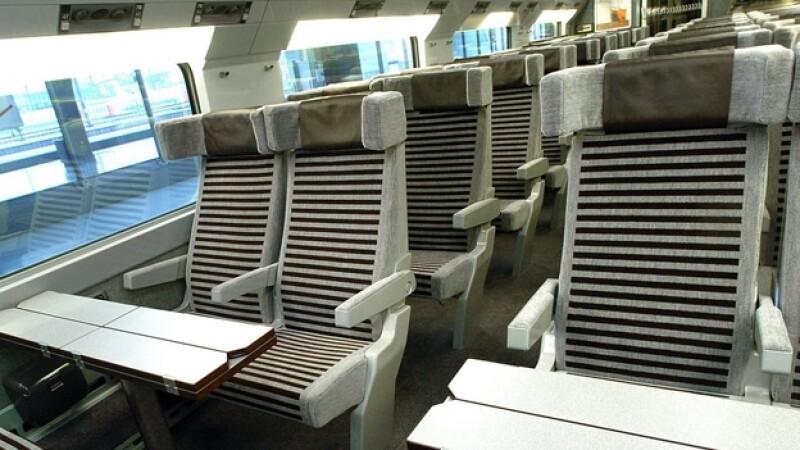 asiento tren europa