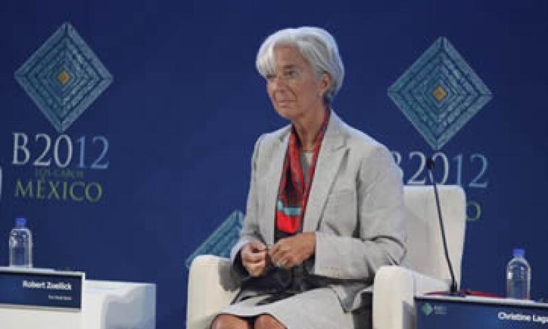 Lagarde comentó que una vez que se conforme un Gobierno se enviará un equipo del FMI a Grecia. (Foto: Dayan Jiménez)